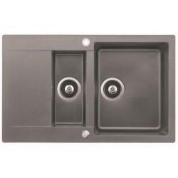 TEKA CLIVO 60 1 1/2B 1/2D, aliuminio spalvos