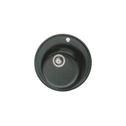 TEKA CENTROVAL 45 - TG, onyx (juodos) spalvos