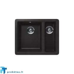 TEKA RADEA 550/370 1 1/2B, carbon (juodos) spalvos