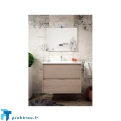 Vonios baldų komplektas INCA COMBO 2S 80cm, ąžuolas