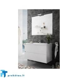 Vonios baldų komplektas TEKA INCA COMBO 2S 100cm, balta