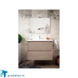 Vonios baldų komplektas INCA COMBO 2S 100cm, ąžuolas