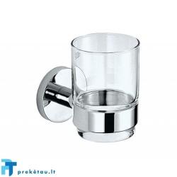 Stiklinė su laikikliu