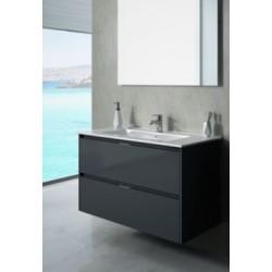 Vonios baldų komplektas TEKA INCA COMBO 2D, 600 GL grafiinė