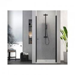 Dušo durys SUPERIA BLACK 90cm