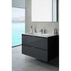 Vonios baldų komplektas TEKA INCA COMBO 2D 1000 GL, grafitinė