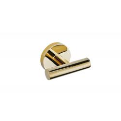 Dvigubas metalinis kabliukas, aukso spalvos